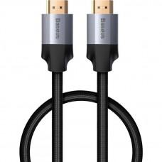 Кабель 4K HDMI - 4K HDMI 1м Baseus Enjoyment Series Adapter Cable - Темно-серый (CAKSX-B0G)