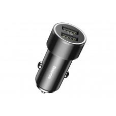 Автомобильное зарядное устройство Baseus Small Screw 3.4A Dual-USB Car Charger (CAXLD-C01)
