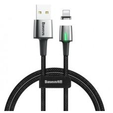 Кабель магнитный Baseus Zinc Magnetic Cable USB - Lightning 2.4A, 1м (CALXC-A01)