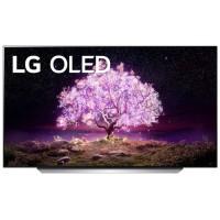 """OLED телевизор LG OLED55C1RLA 54.6"""" (2021), ванильный белый"""