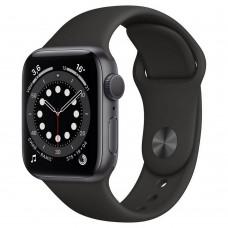 Умные часы Apple Watch Series 6 GPS 44mm Aluminum Case with Sport Band Black M00H3RU/A