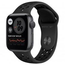 Умные часы Apple Watch Nike Series 6 GPS 40mm Aluminum Case with Sport Band Black M00X3RU/A