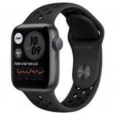 Умные часы Apple Watch Nike SE GPS 40mm Aluminum Case with Sport Band Black MYYF2RU/A