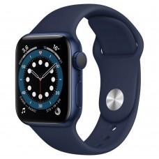 Умные часы Apple Watch Series 6 GPS 40mm Aluminum Case with Sport Band Blue MG143RU/A
