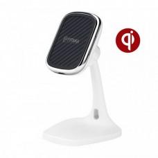 Настольное беспроводное зарядное устройство Pitaka MagEZ Mount Qi Desktop White (белый)