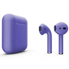 Наушники Apple AirPods 2 Color Purple (Фиолетовый матовый) (без беспроводной зарядки чехла) MV7N2