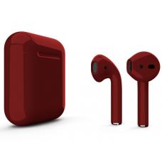 Наушники Apple AirPods 2 Color Cherry (Вишневый глянцевый) (без беспроводной зарядки чехла) MV7N2