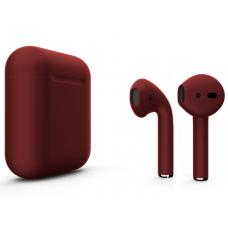 Наушники Apple AirPods 2 Color Cherry (Вишневый матовый) (без беспроводной зарядки чехла) MV7N2