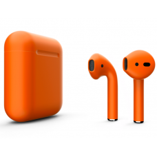 Наушники Apple AirPods 2 Color Orange (Оранжевый матовый) (без беспроводной зарядки чехла) MV7N2