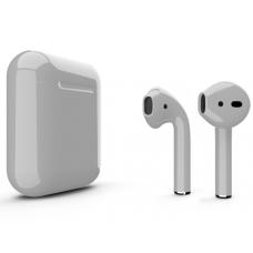 Наушники Apple AirPods 2 Color Gray (Серый глянцевый) (без беспроводной зарядки чехла) MV7N2