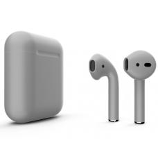 Наушники Apple AirPods 2 Color Gray (Серый матовый) (без беспроводной зарядки чехла) MV7N2