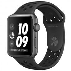 Умные часы Apple Watch S3 Nike+ 42mm SpaceGrey Al/Black Sport Band MTF42RU/A