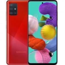 Смартфон Samsung Galaxy A51 128gb (SM-A515FZRCSER) Красный