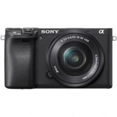 Фотоаппарат Sony Alpha ILCE-6400L Kit (16-50mm f/3.5-5.6) Black