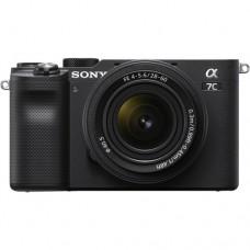 Фотоаппарат Sony Alpha A7C ILCE-7CL Kit черный