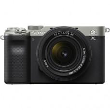 Фотоаппарат Sony Alpha A7C ILCE-7CL Kit серебристый