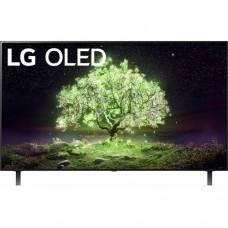 """OLED телевизор LG OLED55A1RLA 54.6"""" (2021), черный"""
