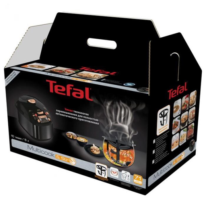 Мультиварка Tefal MultiCook&Stir RK901832 черный