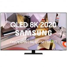 "4K телевизор QLED Samsung QE55Q700TAU 55"" (2020), черный титан"